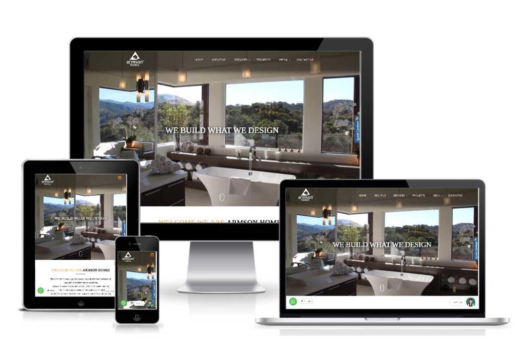 Armson Homes Unveils New Redesigned Website
